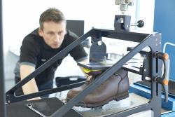 Footwear slip resistance testing
