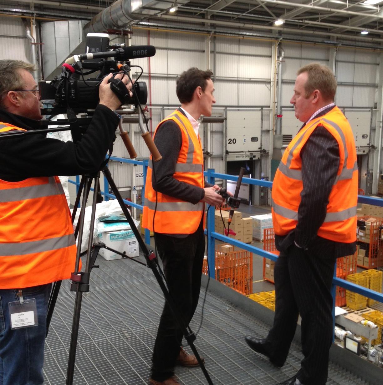 Thomas Martin talks to Ciaran Jenkins of Channel 4 News