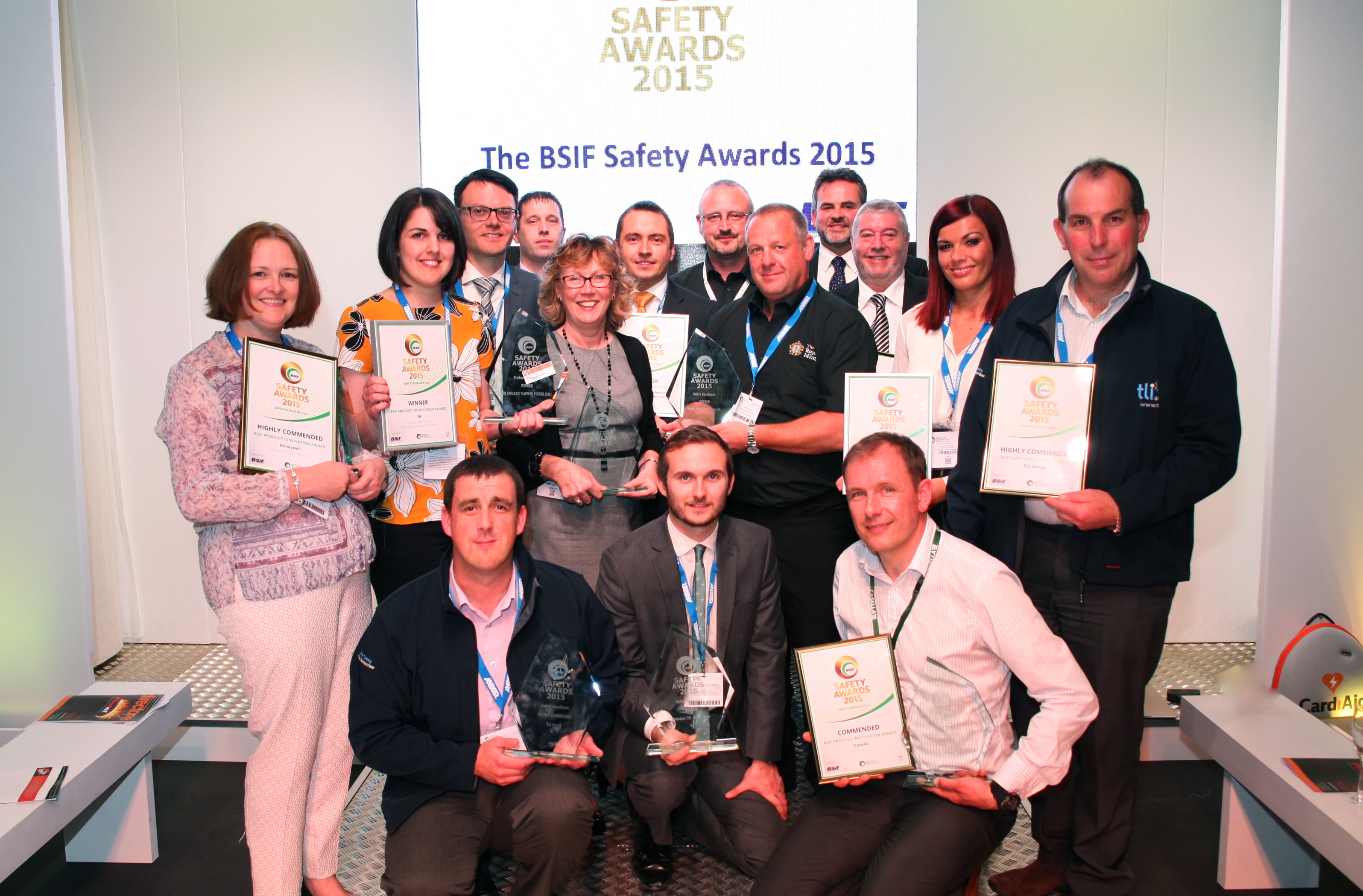 BSIF Safety Award Winners 2015
